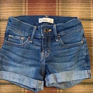 Girls size 8 Abercrombie shorts